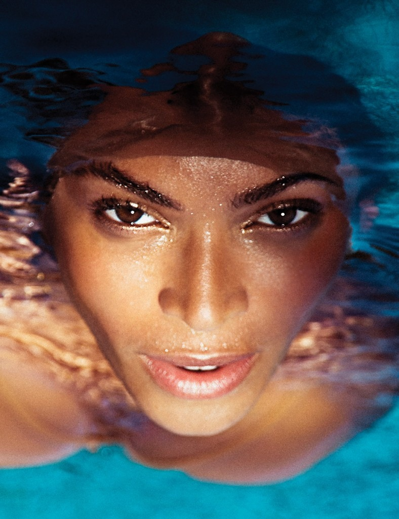FACE TIME: Beyonce stuns in this closeup image