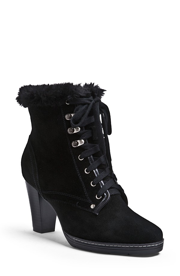 Blondo 'Lilli' Suede Lace-up Bootie available for $184.95