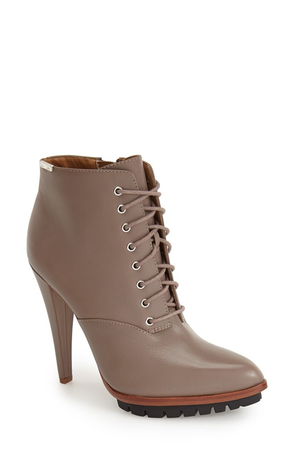 Calvin Klein 'Laneiege' Lace-up Bootie available for $188.95