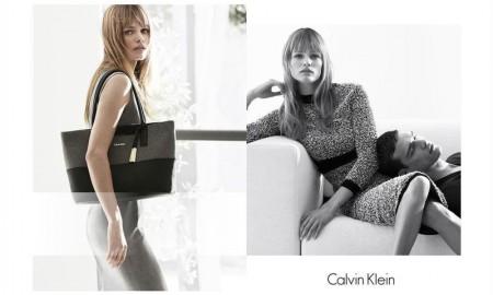 Edita Vilkeviciute stars in Calvin Klein White Label's fall-winter 2015 campaign