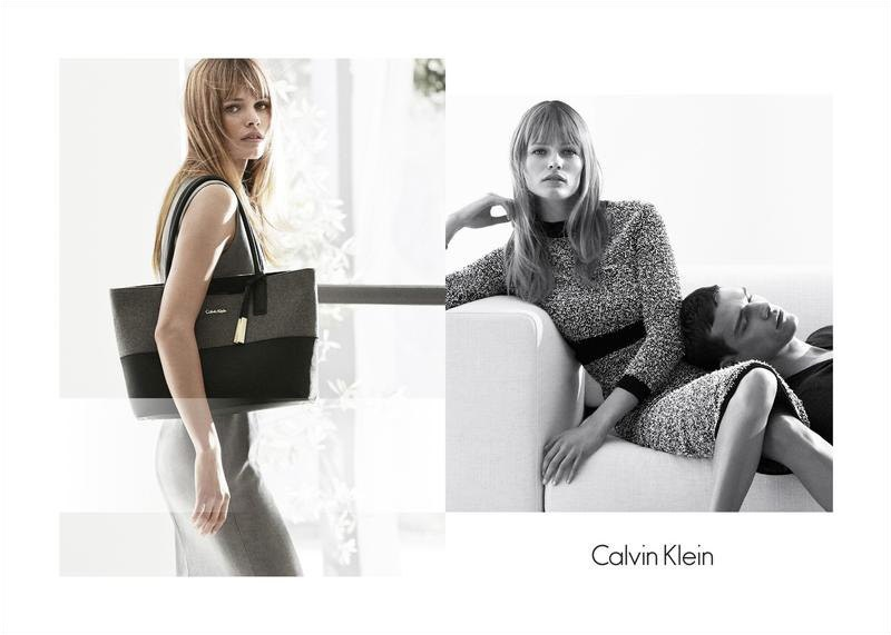 Edita Vilkeviciute Works A Chic Wardrobe in Calvin Klein White Label Ads