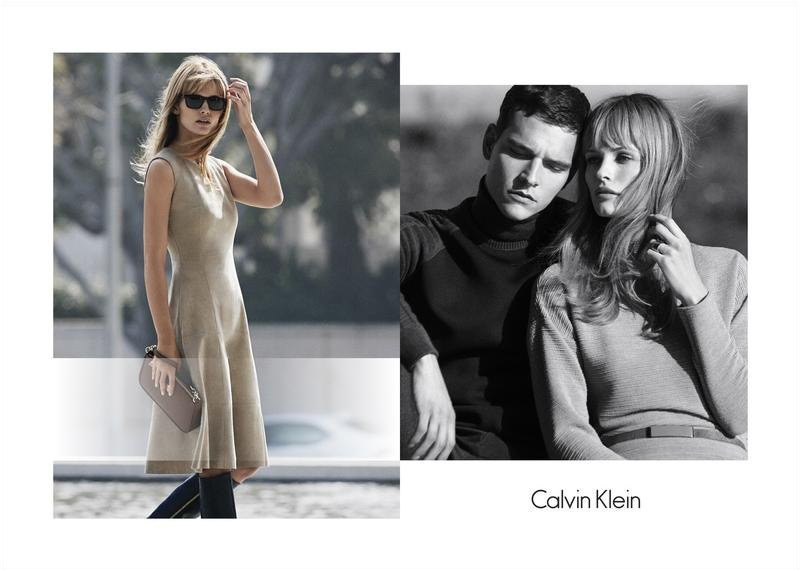 An image from Calvin Klein White Label's fall 2015 campaign