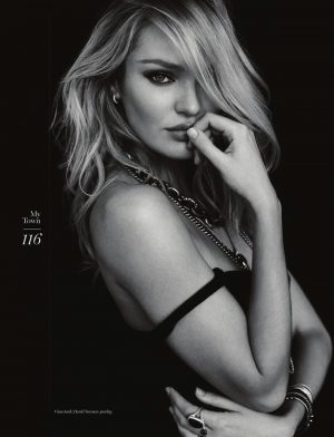 Candice Swanepoel Strips Down for Sexy My Town Cover Story