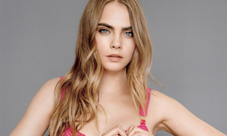 Cara Delevingne for Stella McCartney 2015 Breast Cancer Awareness campaign