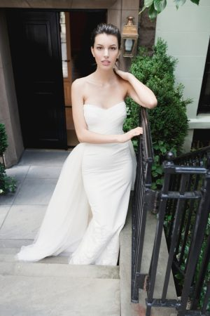 Kate King Stars in Carolina Herrera's Spring 2016 Bridal Campaign