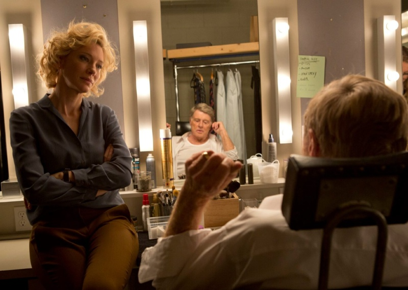 Cate Blanchett and Robert Redford in Truth movie still. Photo: Sony Pictures Classic