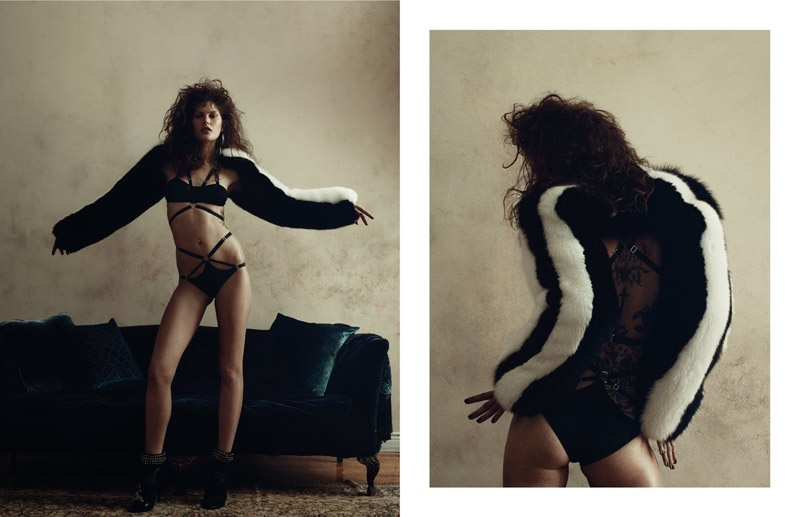 Catherine McNeil Does Gritty Glamour for Zoo Magazine