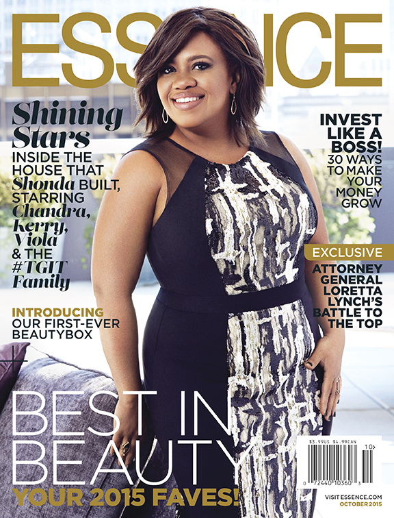 Chandra Wilson on Essence October 2015 cover