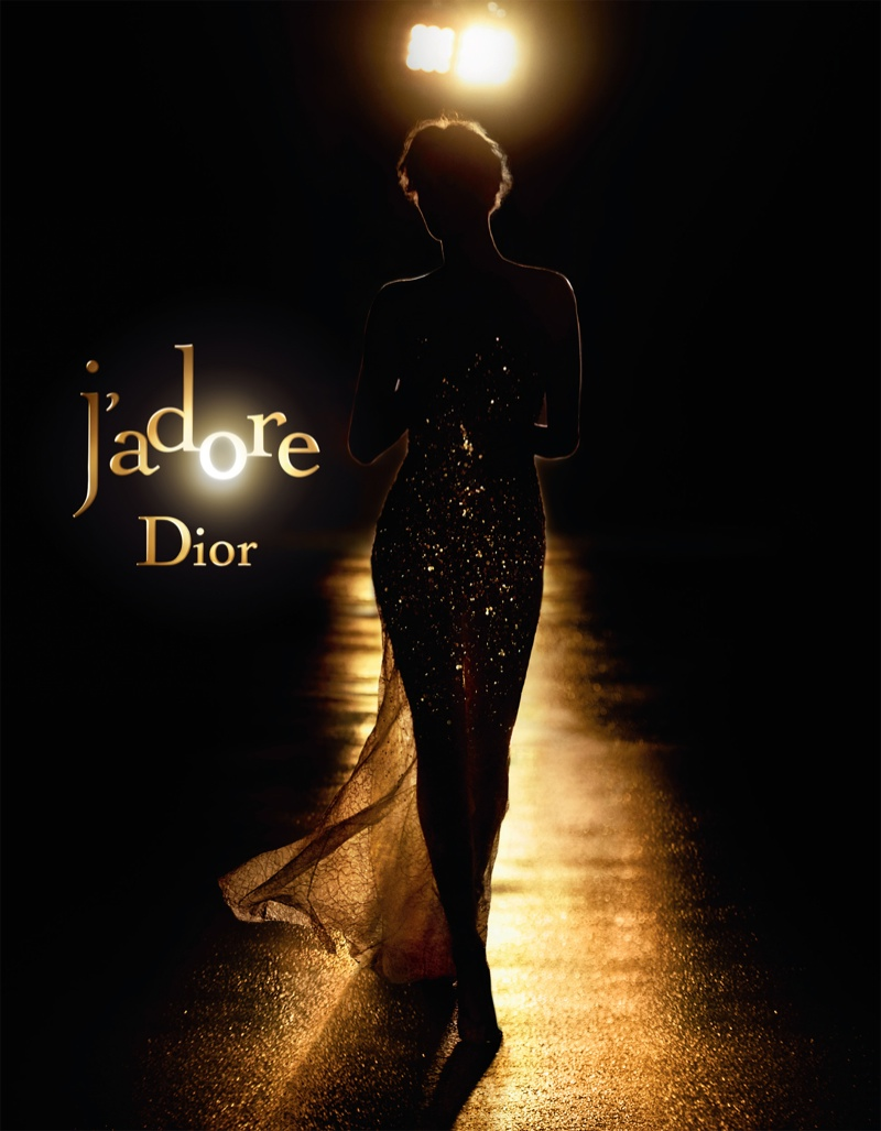 Charlize Theron has been the face of Dior J'adore for over ten years