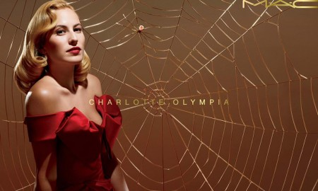 Charlotte Olympia x MAC Cosmetics promotional image