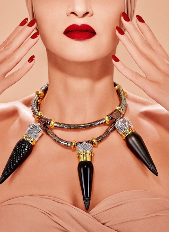 Christian Louboutin Lipstick promotional poster