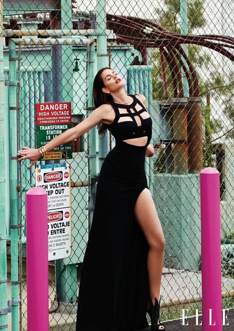 The supermodel flaunts her killer figure in the magazine