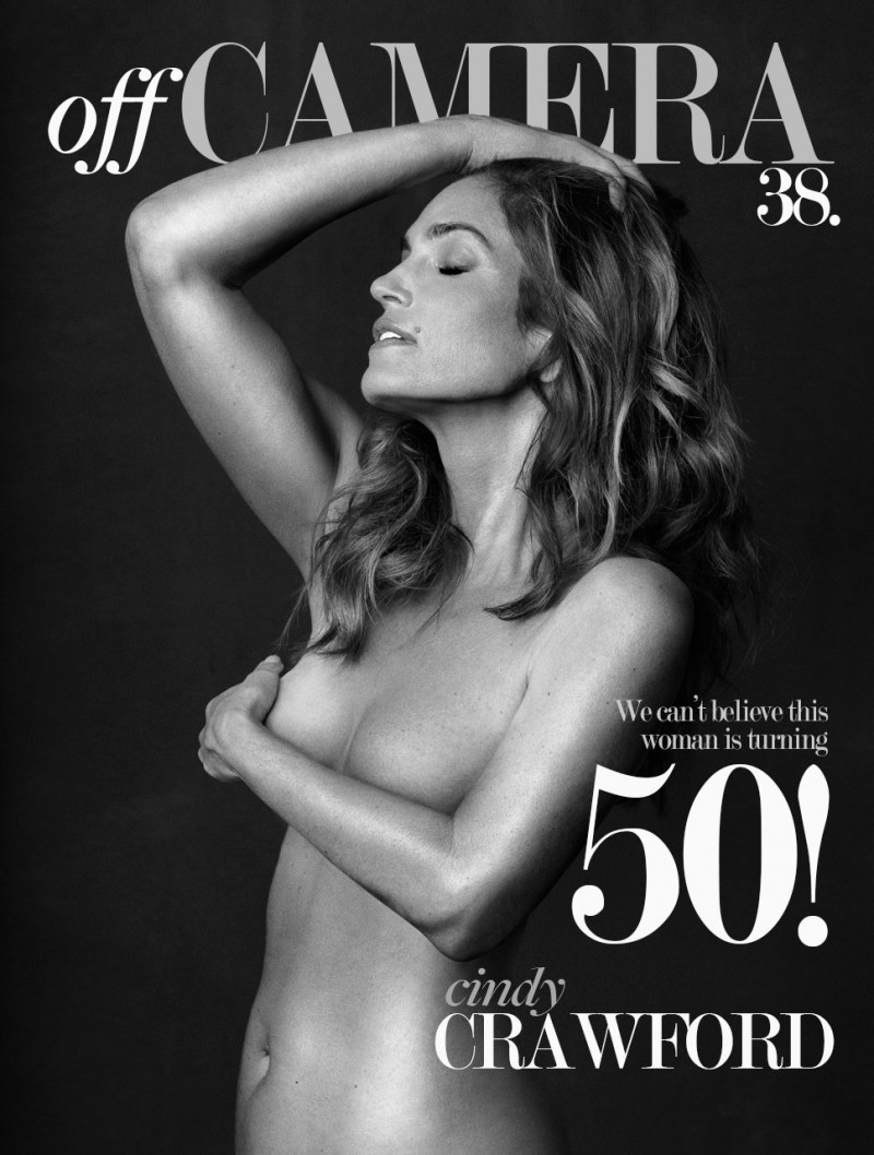 Cindy Crawford on Off Camera #38 cover