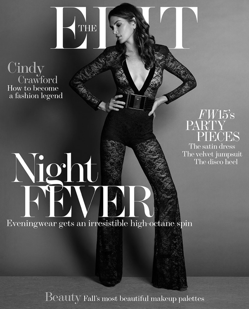 Cindy Crawford on The Edit September 2015 cover