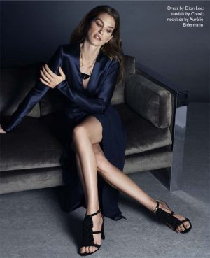 Cindy Crawford is 'Still Super' for The Edit