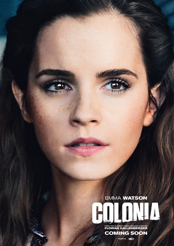 Colonia movie poster with Emma Watson