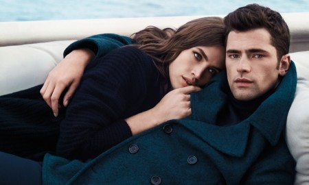 Crista Cober and Sean O'pry star in Cerreuti 1881's fall 2015 campaign
