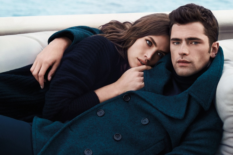 Crista Cober Joins Sean O'pry for Cerruti 1881 Fall '15 Ads