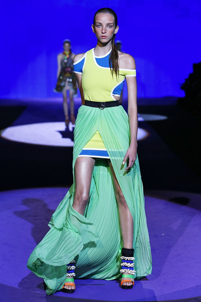 A look from DSquared2's spring 2016 collection