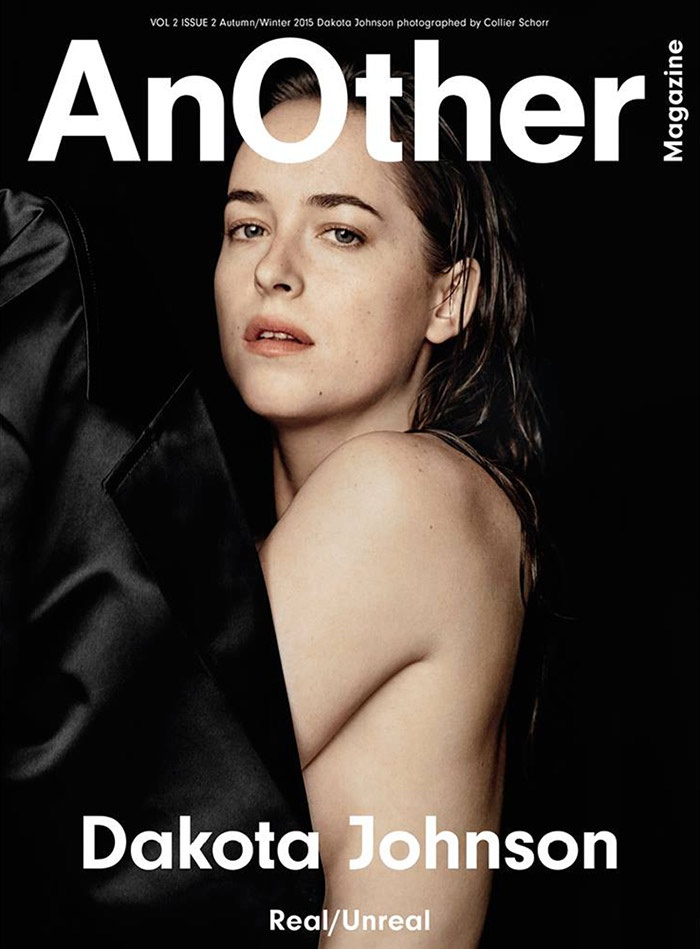 Dakota Johnson on AnOther Magazine Fall / Winter 2015 cover