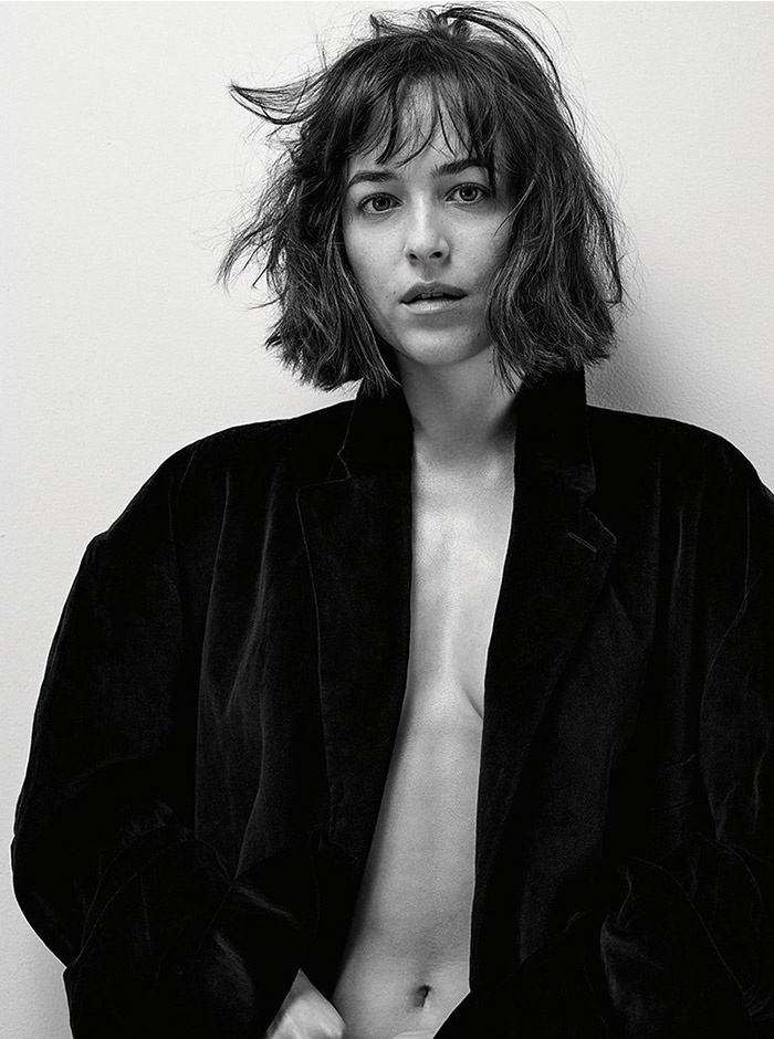 The actress shows off her bob haircut