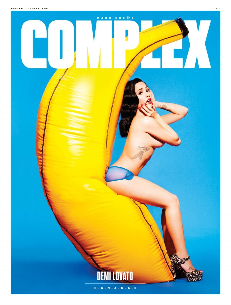 Demi Lovato - Complex Magazine November 2015
