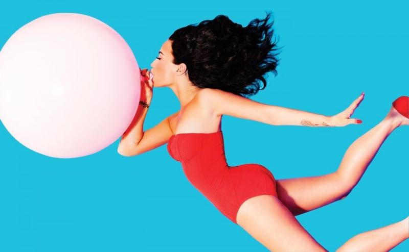 Demi Lovato Channels Sexy Pin-Up for Complex Magazine