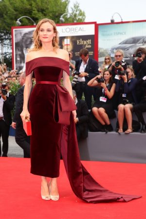 Diane Kruger Stuns in BOSS at 'Black Mass' Venice Film Festival Premiere