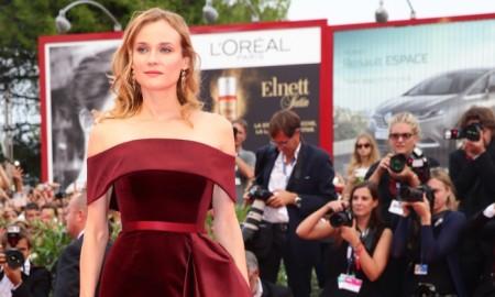 Diane Kruger wears BOSS dress at 2015 Venice Film Festival