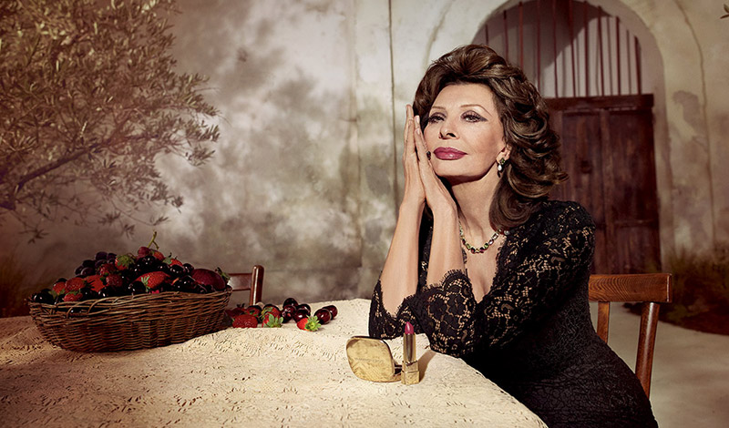 Dolce & Gabbana, Sophia Loren Team Up for Lipstick Collab