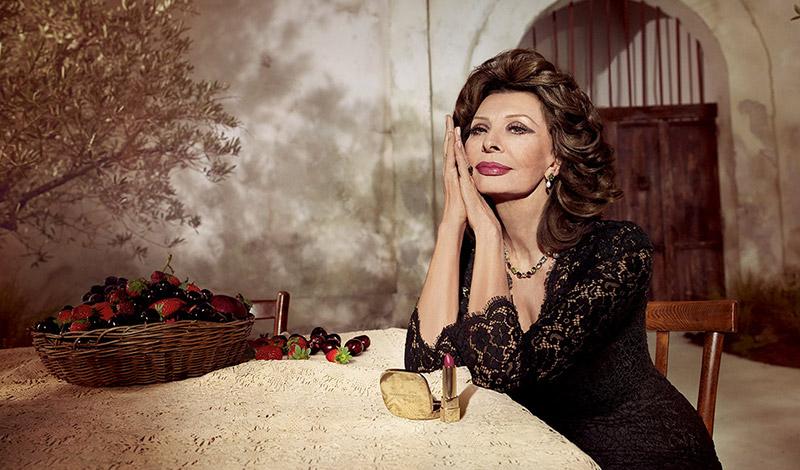 Dolce & Gabbana, Sophia Loren Team Up for Lipstick Collab