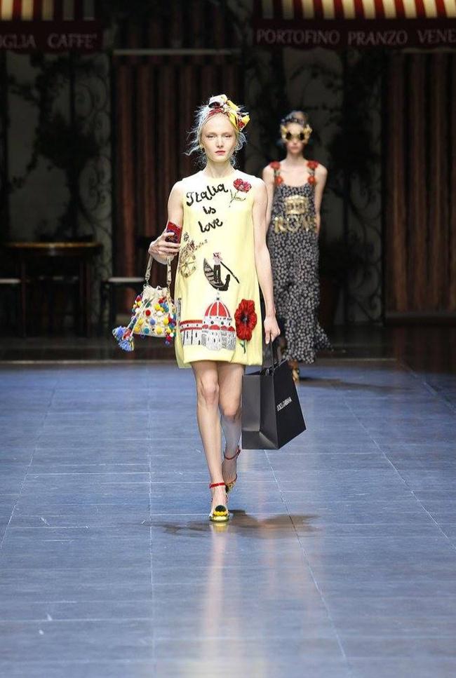 Dolce & Gabbana Spring 2016 | Milan Fashion Week