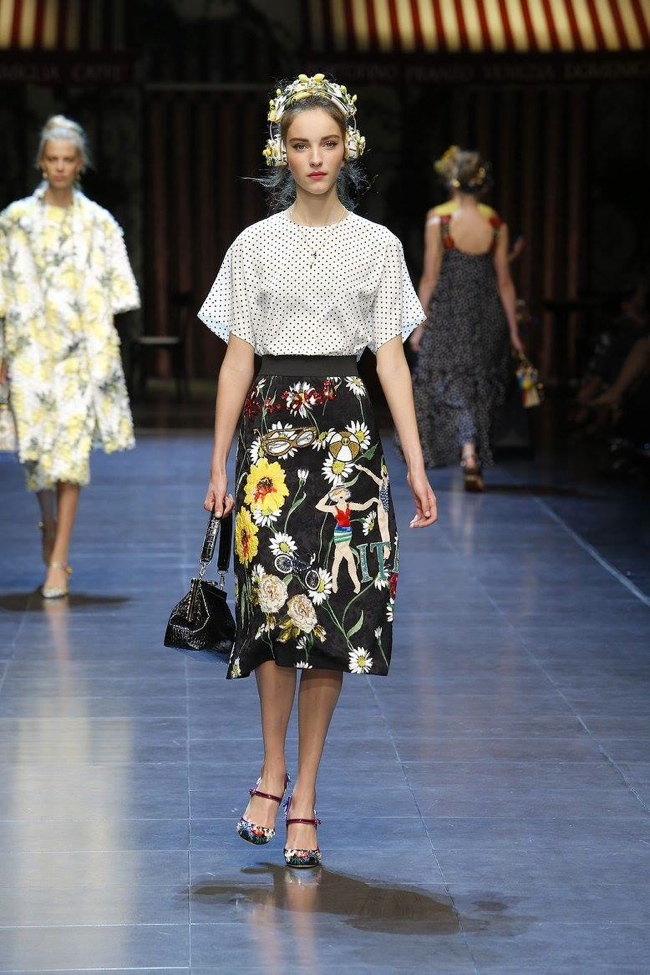 Image result for Dolce & Gabbana Spring 2016 collection