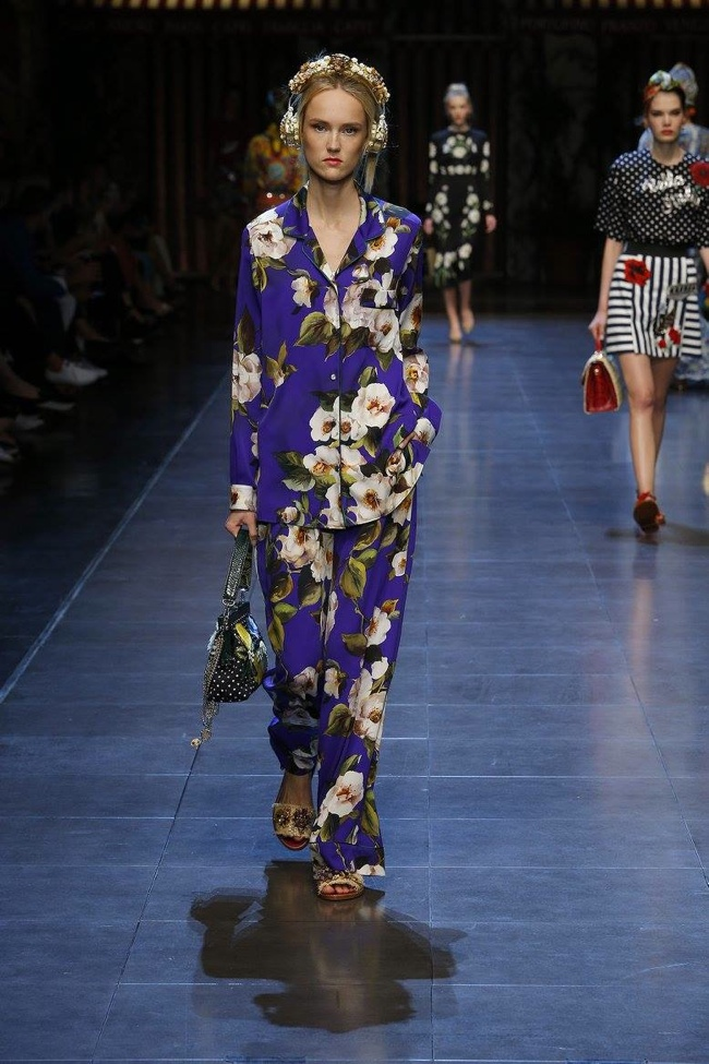 A look from Dolce & Gabbana's spring 2016 collection