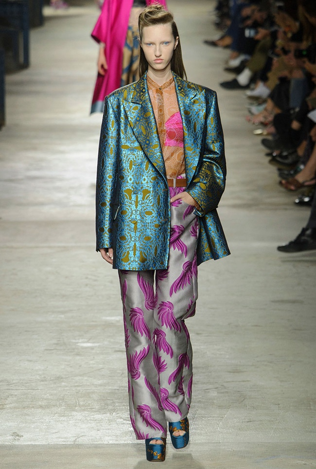 Dries Van Noten Spring 2016 | Paris Fashion Week