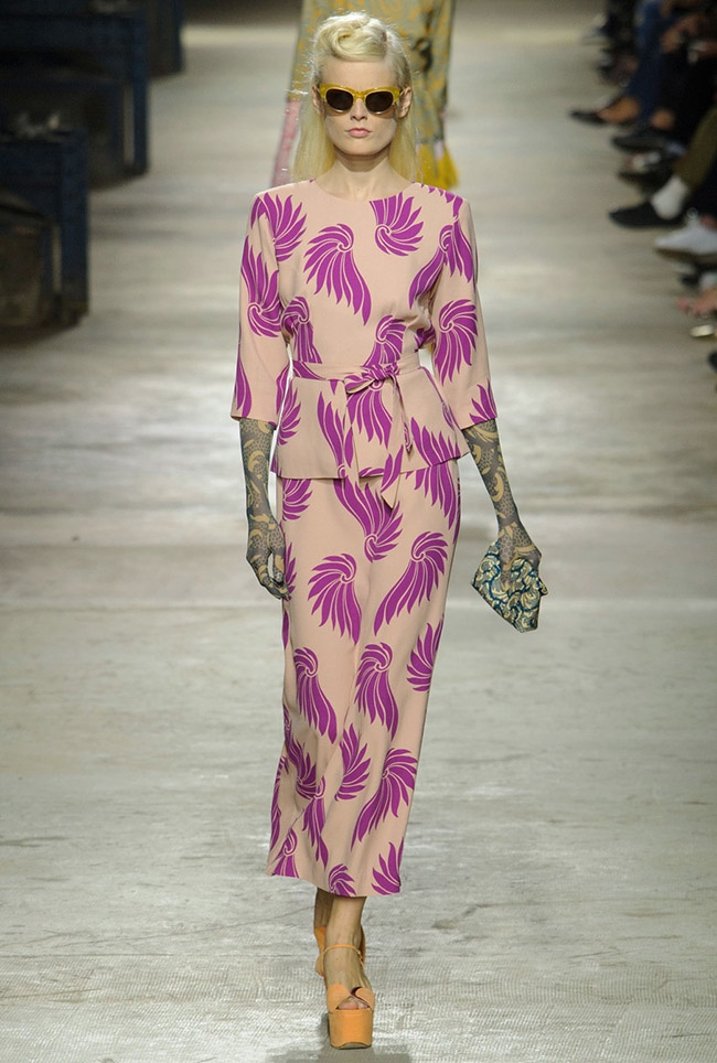 Dries Van Noten Spring 2016 | Paris Fashion Week