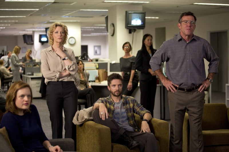 Elisabeth Moss, Cate Blanchett, Topher Grace and Dennis Quaid in Truth. Photo: Sony Pictures Classic