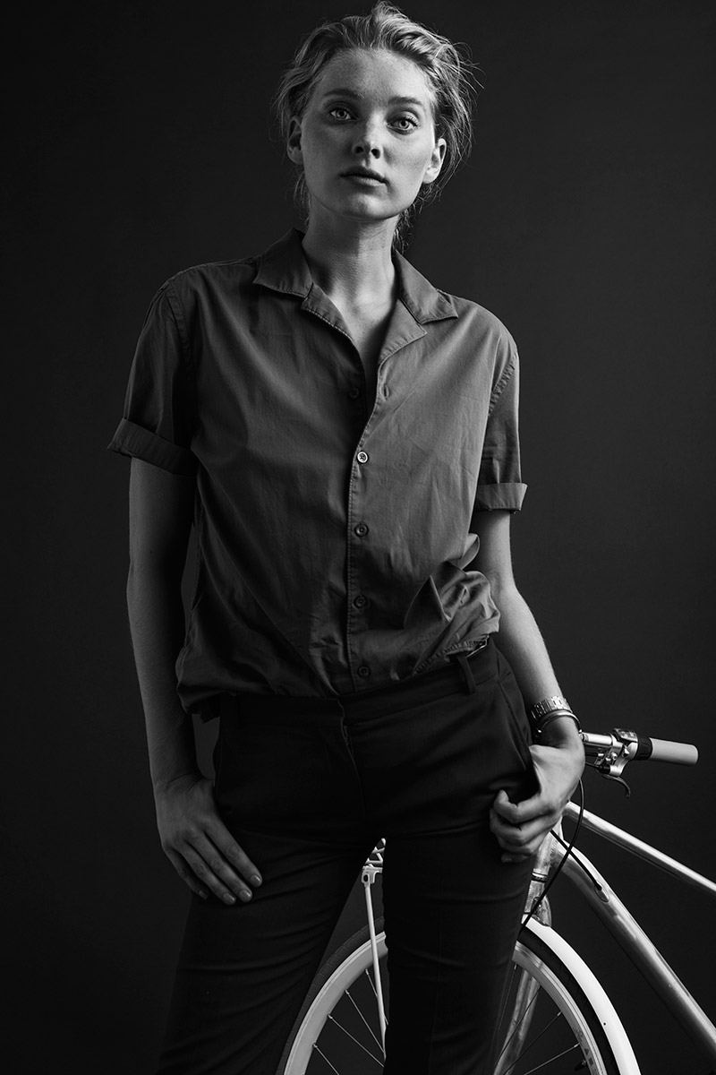 Elsa Hosk for Vélosophy Bicycles
