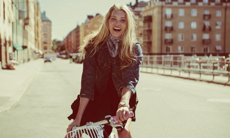 Elsa Hosk stars in Vélosophy Bicycles 'One for One' campaign