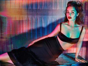 Emilia Clarke Goes Bombshell for GQ UK by Hunter & Gatti