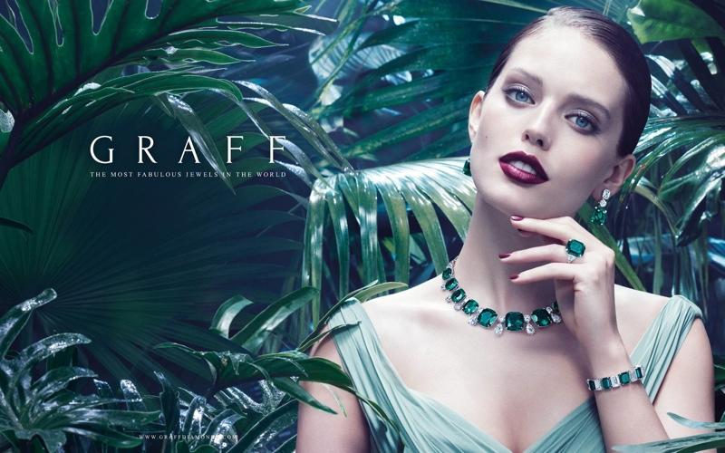 Emily DiDonato stars in Graff Diamonds campaign