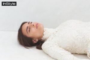 Emily Ratajkowski Poses for InStyle UK, Talks Body Image
