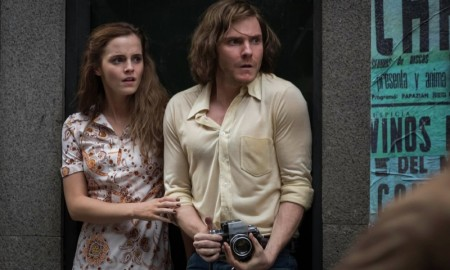Emma Watson and Daniel Bruhl in Colonia