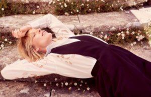 Eva Herzigova Wears End of Summer Looks in ELLE Italy Cover Story
