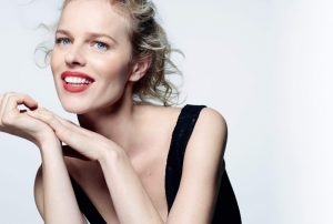 Eva Herzigova is All Smiles in Vogue Russia Beauty Editorial