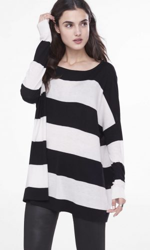 Express Embraces the Tunic Sweater for Fall