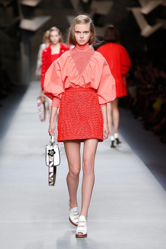 A look from Fendi's spring 2016 collection