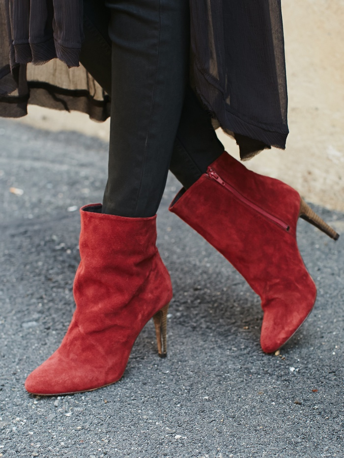 Free People Fairfax Suede Boot Heel available for $178.00