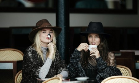 Emily DiDonato + Martha Hunt for Free People