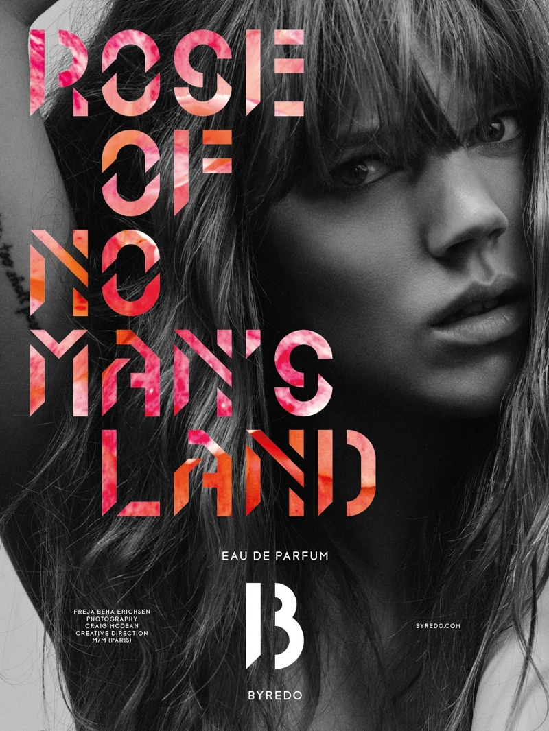 Freja Beha Erichsen is Byredo's Rose